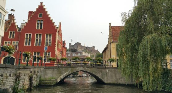 Antwerp limousine service-themed tour-Gent canal