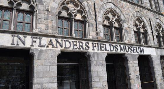 Antwerp limousine service-themed tour Flanders fields Museum